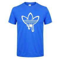 Wholesale sleeves printed tshirts print for sale - Flower Flow Printed Mens Designer Tshirts Casual Tees Male Short Sleeve Crew Neck Tops