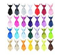 kullanılmış kedi toptan satış-El yapımı köpek kravat ayarlanabilir köpek kedi dört mevsim kullanılabilir sevimli kravat, pet kravat, tüm renkler