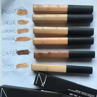 Wholesale N Skin - Brand N Liquid Foundation cream Mineral Concealer Cream BB Cream Makeup Natural face cosmetics primer base for girls 6 colors