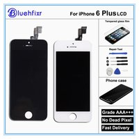 digitizer replacement kit NZ - 100% AAA High Quality Screen For iPhone 6 Plus LCD Replacement Display Touch Digitizer Screen Assembly With Tool Kits And Case
