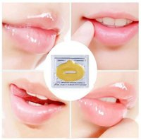 Wholesale lip plumping enhancer - Super Lip Plumper Crystal Collagen Lip Mask Pads Moisture Essence Anti Ageing Wrinkle Patch Pad Gel Full Lips Enhancer