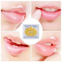 máscara de labios de cristal de colágeno al por mayor-Super Lip Plumper Crystal Collagen Máscara de labios Almohadillas Hidratante Esencia Anti Envejecimiento Arrugas Patch Pad Pad Gel Full Lips Enhancer