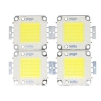 Wholesale blue flood light bulb - COB LED Chip Real Power 10W 20W 30W 50W 100W LED Lamp Bulb For DIY Outdoor LED Flood Light Beads