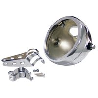 Wholesale chopper headlights for sale - Group buy 5 INCH Housing Motorcycle headlight Mounting Bracket for Harley Davidson FXWG Chopper Dyna Softail Sportster