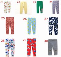 Wholesale mermaid tights for sale - Group buy ins spring fall baby unicorn pp pants ocean fish print leggings kids cotton mermaid print tights children flower Trousers years free