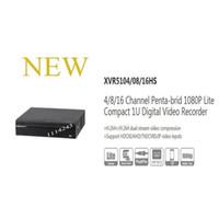 Wholesale Dvr Channels Dahua - DAHUA 4 8 16 Channel Penta-brid 1080P Lite Compact 1U Digital Video Recorder Without Logo XVR5104HS XVR5108HS XVR5116HS
