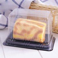 ingrosso torta di formaggio plastica-Scatole di torta di plastica trasparente monouso trasparente Scatole di torta di plastica per pasticceria per pasticceria Panetteria