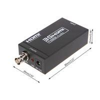 hdmi коаксиальный адаптер оптовых-Конвертер HDMI To SDI Скалер Адаптер 3G Коаксиальный Аудио Для Домашнего Кинотеатра Кинотеатр ПК