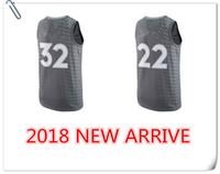 Wholesale Grey Microfiber - 2017-2018 New season Basketball TimberwOlVeS jerseys 32 Karl-Anthony Towns 22 Andrew Wiggins 23# Jimmy Butler jersey free shipping