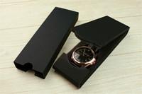 ingrosso orologi di grandi dimensioni-2019 all'ingrosso di trasporto libero nuovo marchio di lusso in pelle tag in acciaio inox grande designer scatola di orologi ultra sottili orologi per gli uomini di grandi dimensioni scatole