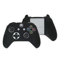 caja del controlador xbox one al por mayor-Alta calidad Para Xbox One S One Slim Consola vertical portátil con ventilador, 2 enfriadores, 1 USB y 2 HUB + caja de silicona de controlador