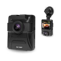 Wholesale hd dash dual camera online - Original Mini Dual Lens Car DVR Dash Cam Front Full HD P Rear P Video Recorder Car Camera Night Vision GPS