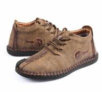 botas de gamuza micro al por mayor-Zapatos de algodón Hombres botas de gamuza ocasionales botines de ocio zapatos de moda repopular clásico popular suded zapatos zyx08