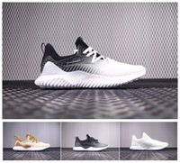 Wholesale Rubber Bounce Shoes - 2018 New Alpha Bounce HPC AMS 3M Shoe Sports Fashion Mens Running Shoes Sneakers AlphaBounce Trainers Shoes