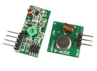 arduino entfernt großhandel-Großhandels-Heißer Verkauf 433Mhz Rf-Senderempfänger-Verbindungskit für Arduino / ARM / MCU Fernsteuerungs-TR