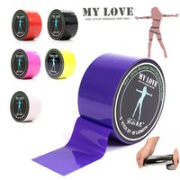 Wholesale Role Tape - 15M Restraint Tape PVC Static Toys For Lover In Role Play