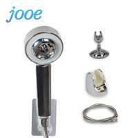 Wholesale Electric Oil Pressure - jooe Beauty Spray Water Saving Shower Head High Pressure 3-Sections Double-sided SPA Bath Showerhead Gel Essential Oil Ducha