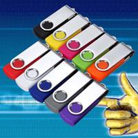128gb unidades flash al por mayor al por mayor-Venta al por mayor / lote / a granel - de alta calidad Multicolor 6G-128gb USB Flash Memory Stick Thumb Pen Drive U disco U51