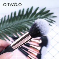Wholesale multi function lips for sale - Group buy TOP A quality O TWO O brush multi function beauty tools foundation eye shadow brush face lip brush
