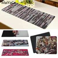 Wholesale happy mouse - MaiYaCa Your Own Mats Danganronpa Trigger Happy Havoc Office Mice Gamer Soft Mouse Pad Size for 20x25cm 25x29cm 30x80cm 30x90cm