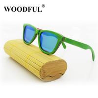 woodful Lunettes de soleil en Bambou, 100% fabriquée à la