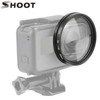 ingrosso montaggio 52mm-52mm 10x lente d'ingrandimento macro da vicino per GoPro Hero 6 5 nero Sport Cam Hero5 Mount Go Pro accessori per fotocamera d'azione