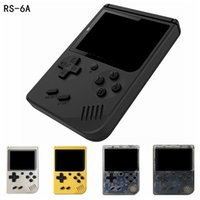 Wholesale portable games consoles for sale - CoolBaby RS A Retro Portable Mini Handheld Game Console Can Store Games Bit Inch Colorful LCD