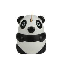 Wholesale free toothpick holder resale online - Automatic Toothpick Holder Cartoon Panda Design Cute Toothpick Dispenser Restaurant Table Decoration ZA6258