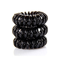 Wholesale telephones accessories for sale - 50pcs useful Fashion hair accessories Telephone Wire Line Cord bobble hair rope Traceless Hair ring for gilrs Hair bands