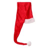 ingrosso copricapo costume-1 pz Cappello da Babbo Natale Novità Novità Flush Hat Christmas Xmas Headdress Party Favors Costume Accessorio Photo Prop per Bambini Bambini