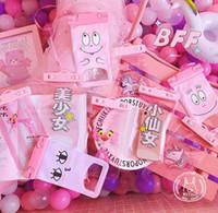 Wholesale beautiful unicorn - Cartoon cute beautiful girl fairy mobile phone drift bag Unicorn phone waterproof bag