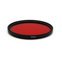 Wholesale mm photography - MINIFOCUS Red diving filter 67 mm for Underwater Photography Camera waterproof housing With thread mount