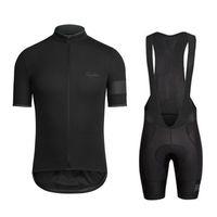 equipo de la bici del camino al por mayor-2018 Pro equipo Rapha Ciclismo Jersey Ropa ciclismo bicicleta de carretera ropa de carreras ropa de la bicicleta Verano de manga corta camisa de montar F2744