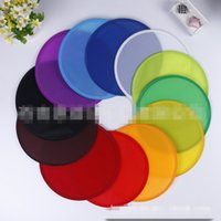 Wholesale Fly Commercial - Polyester Foldable Flying Disc With Pouches Poly Blank Frisbee Outdoor Sports Toys for Family Commercial Giveaways Toys Folding Flying Disc