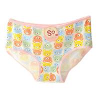Wholesale Random Bear - Hot selling Cartoon Bear Women's Soft Cotton Hipsters Panties Underwear Briefs Color Random