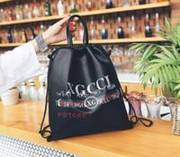 Wholesale Man Strings - 2018 Europe Luxury brand women bag Famous designers handbags backpack women's Shoulder bag chain backpacks brands