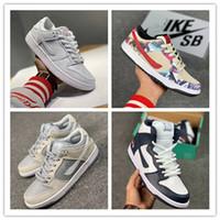 güvercin barış toptan satış-Kutu 2018 yeni Epacket Düşük Dunk SB Chicago Erkekler kadın Koşu Ayakkabıları Barış Dove 1 Orijinal Otantik Sneakers Ile Sınırlı Yayın 36-45