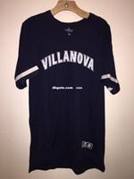 Wholesale cheap athletic shorts - Cheap custom VILLANOVA Wildcats Athletic Dri-Power Retro Ragian Baseball Jersey Men Women Youth Stitched Customize any number name