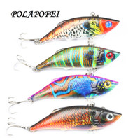 Wholesale sinking vib lures for sale - Sinking Fishing Lure Vib Fishing Bait Wobbler Crankbait Hard Artificial Fish Tackle Peche Kosadaka cm g C270