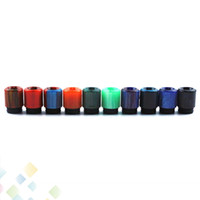 Wholesale dual tip drip for sale - Group buy 810 Epoxy Resin Spiral Drip Tip Colorful Helical Spiral Drip Tips Best quality Dual O Ring Mouthpiece Fit Atomizers Ecig DHL Free