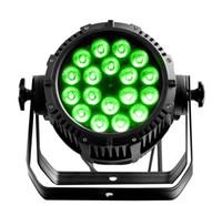 iluminación rasha al por mayor-4X Rasha IP65 18 * 10W RGBW / RGBA 4in1 LED impermeable Par de luz Alumnium LED PAR64 Proyector Luz de escenario