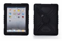 Wholesale china mini tablet for sale - For iPad Pepkoo Spider case Military Heavy Duty Waterproof Dust Shock Proof tablet Case Plastic Silicone Stand for ipad air ipad6