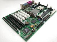 socket 478 carte mère ddr achat en gros de-Pour AEM845E-802 carte mère industrielle Socket 478 3 * ISA Tested Working
