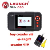 Wholesale Rover Oil - 2018 Launch X431 Creader VIII DBScar scan tool Creader 8 code reader CResetter Oil Lamp Reset tool OBD2 Diagnostic tool 419 gift