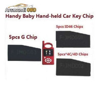 Wholesale Toyota 4c Key Programmer - Best 5Pcs Lot 4D 46 48 Chips & For FORD 83 G Chip For Handy Baby JMD Car Key Copy Auto Key Programmer ID48 4C 4D and ID46 Chip