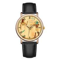 porzellan edelstahl gehäuse großhandel-Baosaili Werbe Uhren Made in China Mann Frauen Uhren Fall Edelstahl zurück römische Ziffern Gesicht Uhr Geschenk B-9079