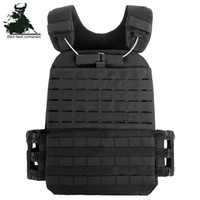 ingrosso maglia tattica gratuita-Gilet tattico outdoor Outdoor Training Special Suit Multi-function Combat Vest, Army Training Tactical Vest shopping gratuito