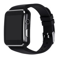 Wholesale huawei waterproof - New Smart Watch E6 With Bluetooth Wrist Watch For Android Samsung Huawei Sony Phone English Sim Card Sleep Tracker X6 Smartwatch