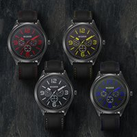 enlace reloj de cuarzo al por mayor-Correa de Silicona de Moda para Hombre Sport Cool Cuarzo Enlace de Bucle Reloj de Puerta Personalidad Reloj romántico de Pulsera de Horas de la Personalidad