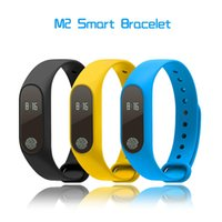 Wholesale Blood Pressure Pulse Oximeter - M2 Smart Band Heartrate Blood Pressure Oxygen Oximeter Sport Bracelet Clock Monitor Bluetooth Fitness Tracker for iPhone 8 X Samsung